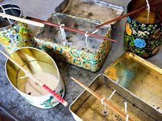 Beautiful DIY Tin Candles - Sugar and Charm - sweet recipes - entertaining tips - lifestyle inspiration