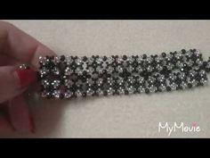 YouTube Beaded Bracelets Tutorial, Beaded Bracelet Patterns, Seed Bead Bracelets, Jewelry Patterns, Handmade Bracelets, Beading Patterns, Beaded Jewelry, Jewelry Bracelets, Handmade Jewelry