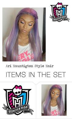 """Monster High: Ari Hauntington  Style Hair"" by aquamimi on Polyvore featuring art"