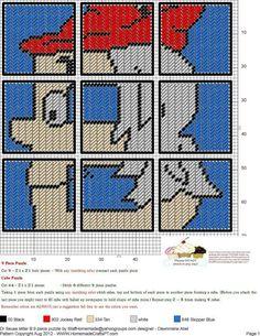 Dr. Seuss Letter B  9 Piece Puzzle