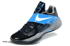 Nike KD IV Olympics Black Royal Blue Kevin Durant Shoes 2012