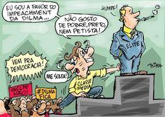 "BFC: Charge: ""Democracia a lá brasileira"""