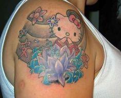 Tattoo Beauties: Hello Kitty Tattoos