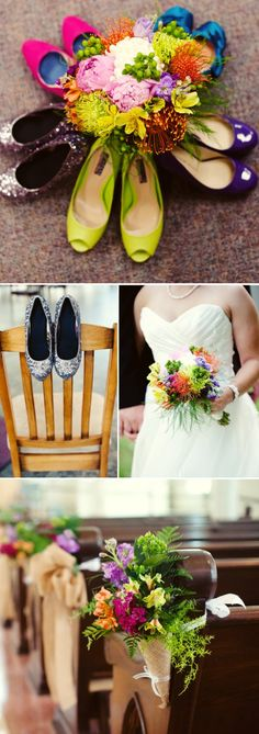 Sweet Summer Wedding Infused with Color
