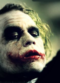"The Joker from 'The Dark Knight', ""I believe, whatever doesn't kill you, simply makes you... stranger""..."