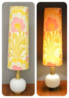 Vintage lamp sweet sixties @vintage4fun