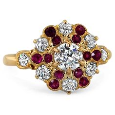 18K Yellow Gold The Adellia Ring from Brilliant Earth