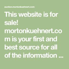 This website is for sale! mortonkuehnert.com is your first and best source for all of the information you're looking for. From general topics to more of what you would expect to find here, mortonkuehnert.com has it all. We hope you find what you are searching for!