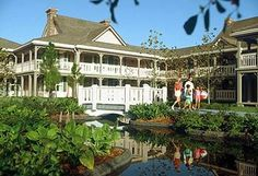 "Disneys Port Orleans Resort (Moderate) - we love staying here! We stayed ""in the woods"" once (it was a bit of a hike to the big pool, but restful being among the trees) and the other times we've stayed by the river's edge near the dining hall. Absolutely love this place!"