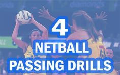 These great Netball Passing Drills & Passing games will help Netball players and coaches to improve passing skills in 4 easy to follow steps.