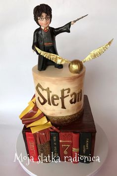 Harry Potter cake  by Branka Vukcevic