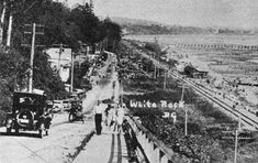 Even in the 1920's White Rock Beach was a stunning place to be!