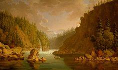 Dalle des Morts (Cascate dei Defunti), Columbia River.