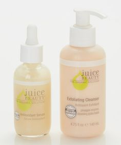 Exfoliating Cleanser & Antioxidant Serum by Juice Beauty on #zulily