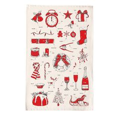 Christmas delights tea towel. Christmas in #HTFStyle.