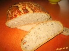 chleba v troubě bez hnětení Our Daily Bread, Russian Recipes, Dumplings, Pizza, Baking, Buns, Polish, Vitreous Enamel, Bakken
