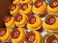 Orange cream cupcakes w/ orange cream cheese frosting