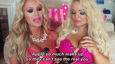 Gigi Gorgeous and Trisha Paytas Jason Nash, Trisha Paytas, Makeup Makeover, Barbie Life, Happy Wife, Queen, Celebs, Celebrities, Girl Gang