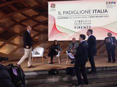 Inizia l'evento sul Padiglione Italia #italia2015 #raiexpo #expoidee #expo2015 #italia #worldfair #firenze