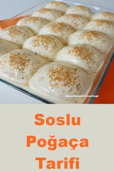 Soslu Poğaça Tarifi – Keep up with the times. Donut Recipes, Sauce Recipes, Cooking Recipes, Donut Store, Turkish Recipes, Homemade Beauty Products, Food Preparation, Donuts, Delicious Desserts