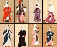 Osmanlı Müslüman, Hristiyan ve Yahudi Kadınları