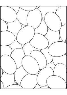 Coloriages oeuf de paques 23
