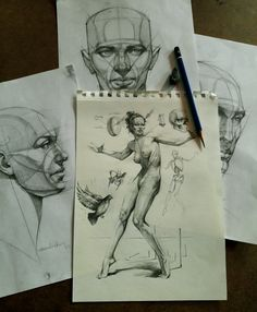 Figure Study - Ferhat Edizkan  instagram: edizkan