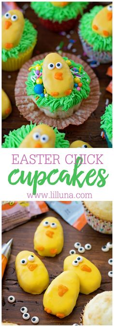 Easter Chicken Cupca