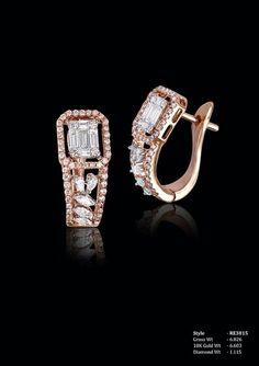 Cluster Diamond Earrings I JColor Clarity – Finest Jewelry Diamond Earrings Indian, Gold Earrings, Diamond Jewelry, Gold Jewelry, Jewelery, Ladies Bangles, Gold Bangles, Ear Jewelry, Diamond Studs