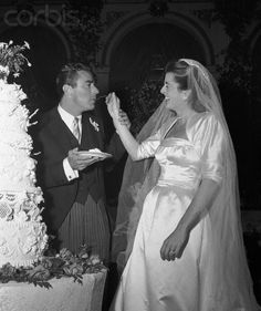 Peter Lawford and Patricia Kennedy wedding