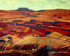 Slemish Mountain, Antrim by eolai