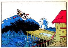 """From """"Donald Duck Finds Pirate Gold"""" by Carl Barks , [W OS    9-02] (1942)"""