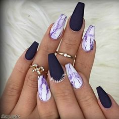 15 Trendy and Tasteful Marble Nails You'll Love - Reny styles