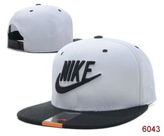 NIKE Snapback Hats adjustable Baseball Cap Hip-Hop Man/women Hats White/Black 023