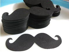 50PCS Party Paper Moustache Wedding Decoration Fiesta Party Birthday Baby Shower #BirthdayAdult