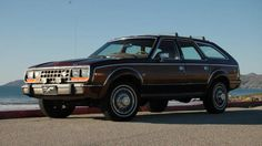 Looking for an AMC Eagle? Here's one with Hearst history. A formerly Hearst-owned AMC Eagle Limited Wagon has come up for sale.
