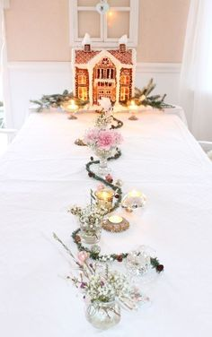 ❄☃ Sweet ❄☃❄ Gingerbread ☃❄ Tablescape - Ana Rosa