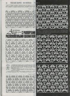 "Photo from album ""Дуплет on Yandex. Diy Crochet And Knitting, Crochet Wool, Crochet Fabric, Irish Crochet, Crochet Clothes, Crochet Symbols, Crochet Stitches Patterns, Lace Patterns, Stitch Patterns"