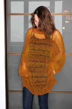 Plus size soft mohair long sweater oversized loose knit jumper mohair pullover bohemian clothing sheer grunge knit oversized sweater dress