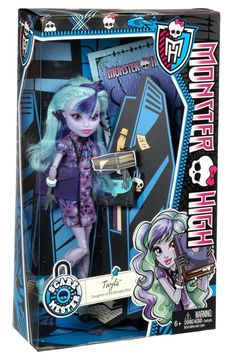 Monster High Scaremester Twyla Daughter Boogey Man Doll New in Box!! BJM42 #Mattel #DollswithClothingAccessories