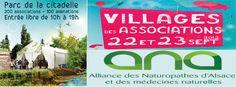Au village santé du salon des associations de Strasbourg.