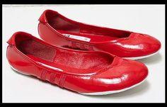 Women Red Y-3 ADIDAS Y3 YOHJI YAMAMOTO Ballet Ballerina Sport Flats Shoes