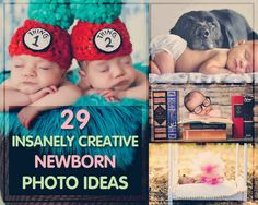 29 Newborns Who Really Nailed Their First Photo Shoot. All of these pictures are amazing.