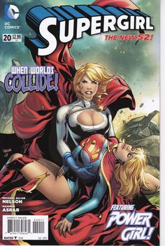 Supergirl 20  When Worlds Collide  DC Comics  Grade by ViewObscura