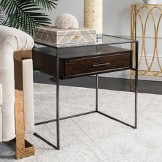 Found it at AllModern - Carwile 1 Drawer Nightstand