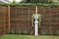 Tuinscherm fiber vlechtwerk wilgenteen look vbl tuin pinterest fiber and search - Deco corridor zwart wit ...