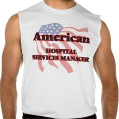 American Hospital Services Manager Sleeveless Shirt Tank Tops