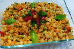 Salada de Grão de Bico | Veganana
