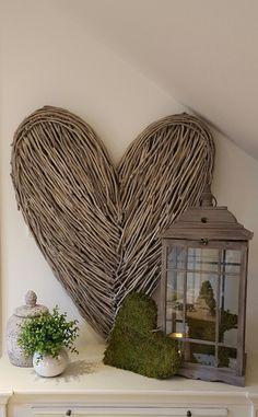 Extra Large Wicker Heart