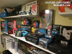vintage console display